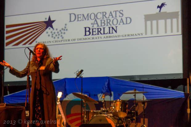 Nancy Green, chair Democrats Abroad Berlin Chapter
